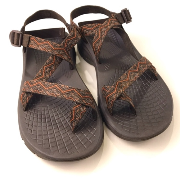 b18a6f428ec5 Chaco Other - Chaco Men s Z 2 Sandals Brown and Orange Size 12